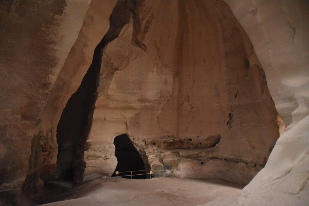 Beit Guvrin bell cave May 2019 Israel Tour with John DeLancey