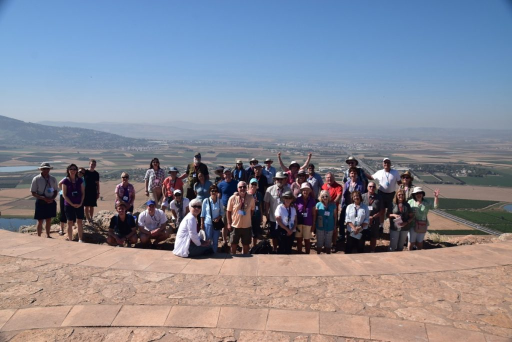 Precipice May 2019 Israel Tour Group with John DeLancey
