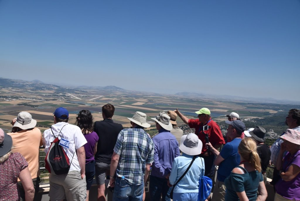 Mt. Carmel May 2019 Israel Tour Group with John DeLancey