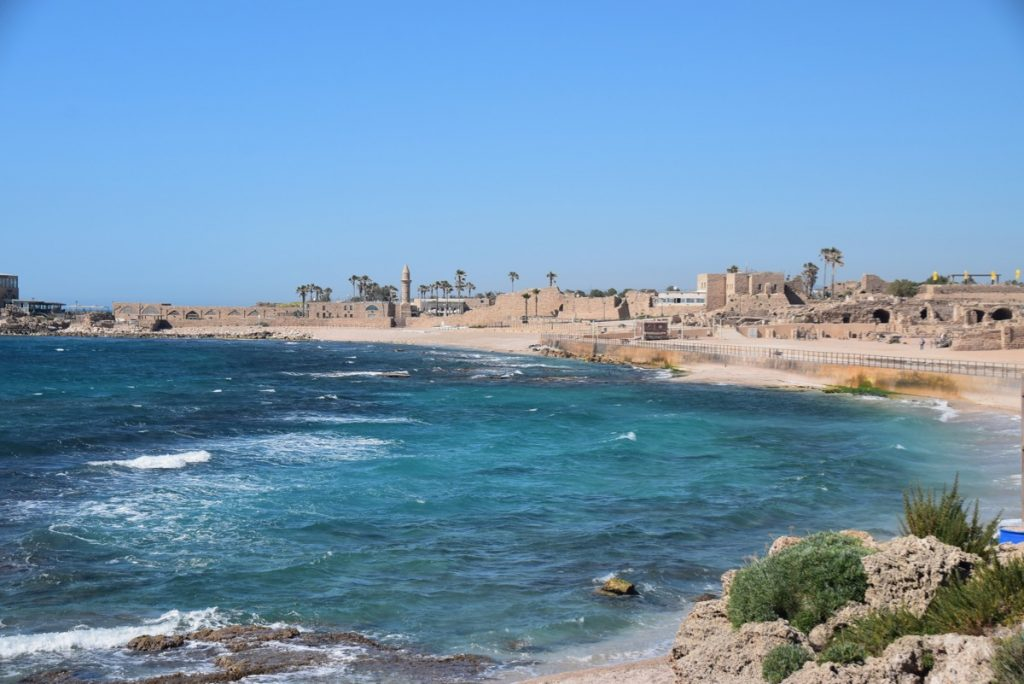 Caesarea May 2019 Israel Tour with John DeLancey