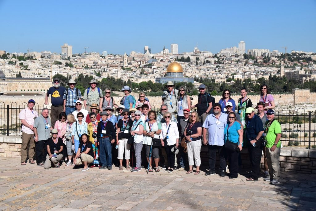 Jerusalem May 2019 Israel Tour Group with John DeLancey