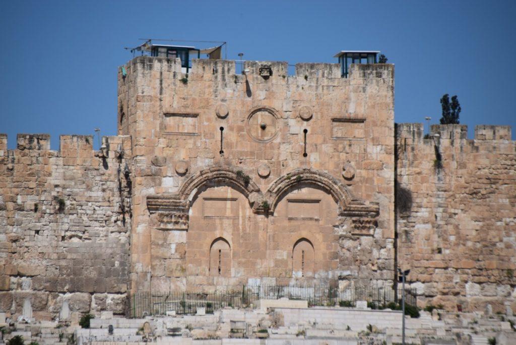 Jerusalem Eastern Gate May 2019 Israel Tour with John DeLancey