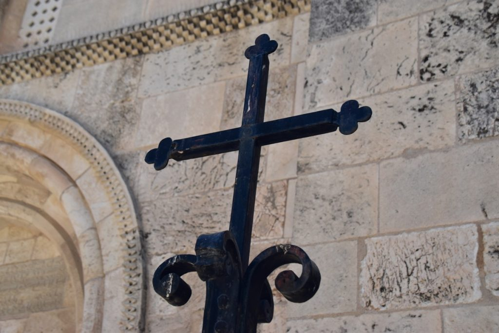 Jerusalem St. Anne's Church May 2019 Israel Tour with John DeLancey