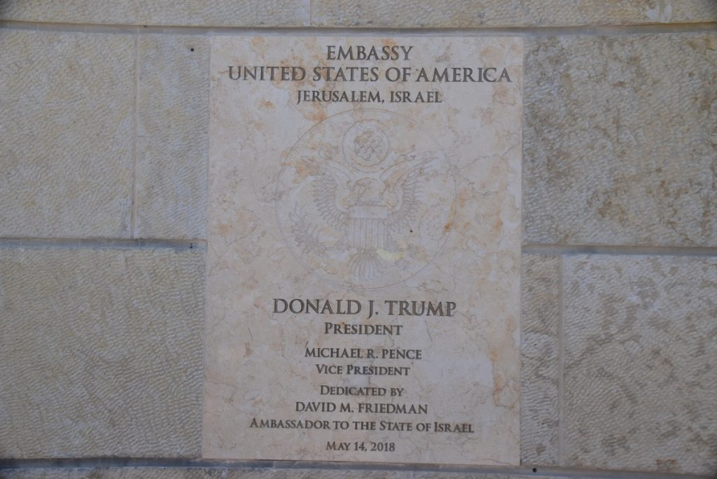 Jerusalem US Embassy May 2019 Israel Tour with John DeLancey