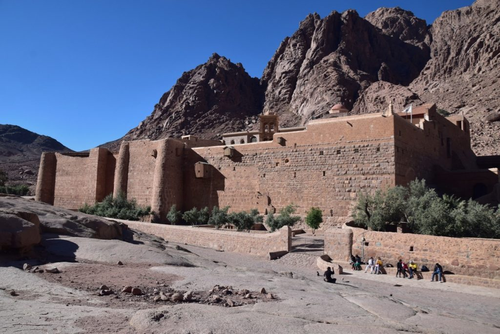 St Catherine's Sinai May 2019 Israel Tour with John DeLancey