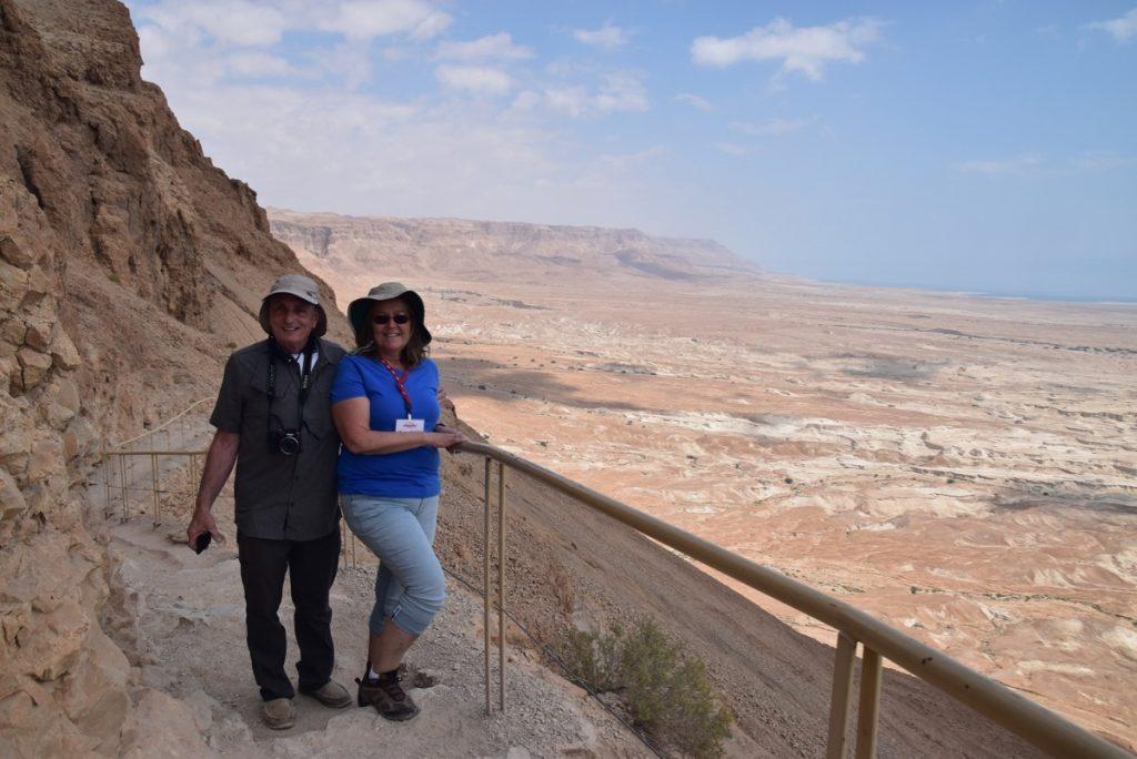 Masada May 2019 Israel Tour with John DeLancey