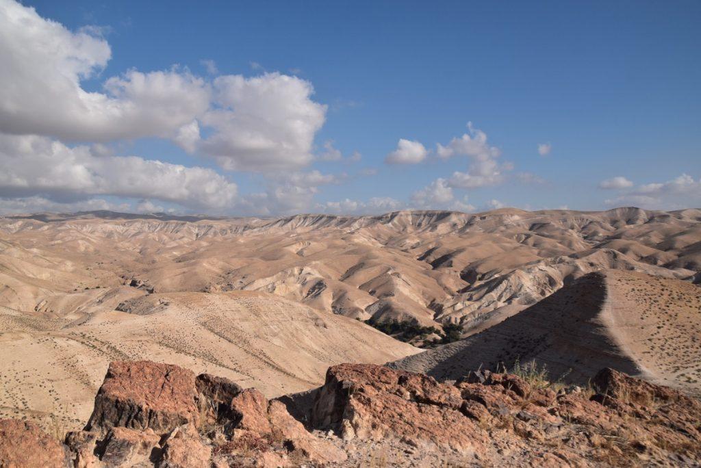 Wadi Qelt May 2019 Israel Tour with John DeLancey