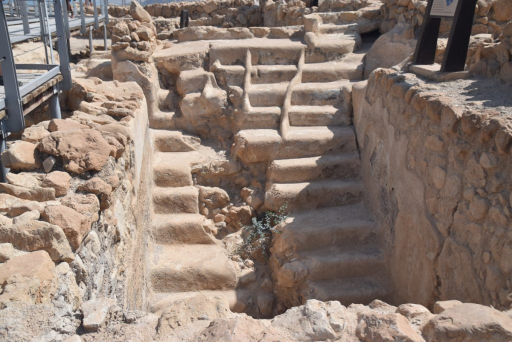 Qumran June 2019 Israel Tour Group with John DeLancey
