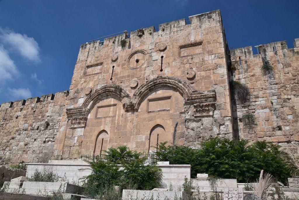 Jerusalem Eastern Gate June 2019 Israel Tour Group with John DeLancey