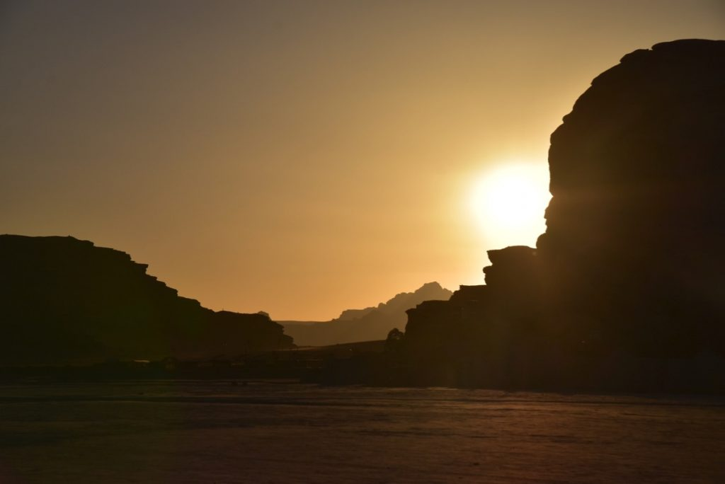 Wadi Rum Jordan June 2019 Israel Tour Group with John DeLancey