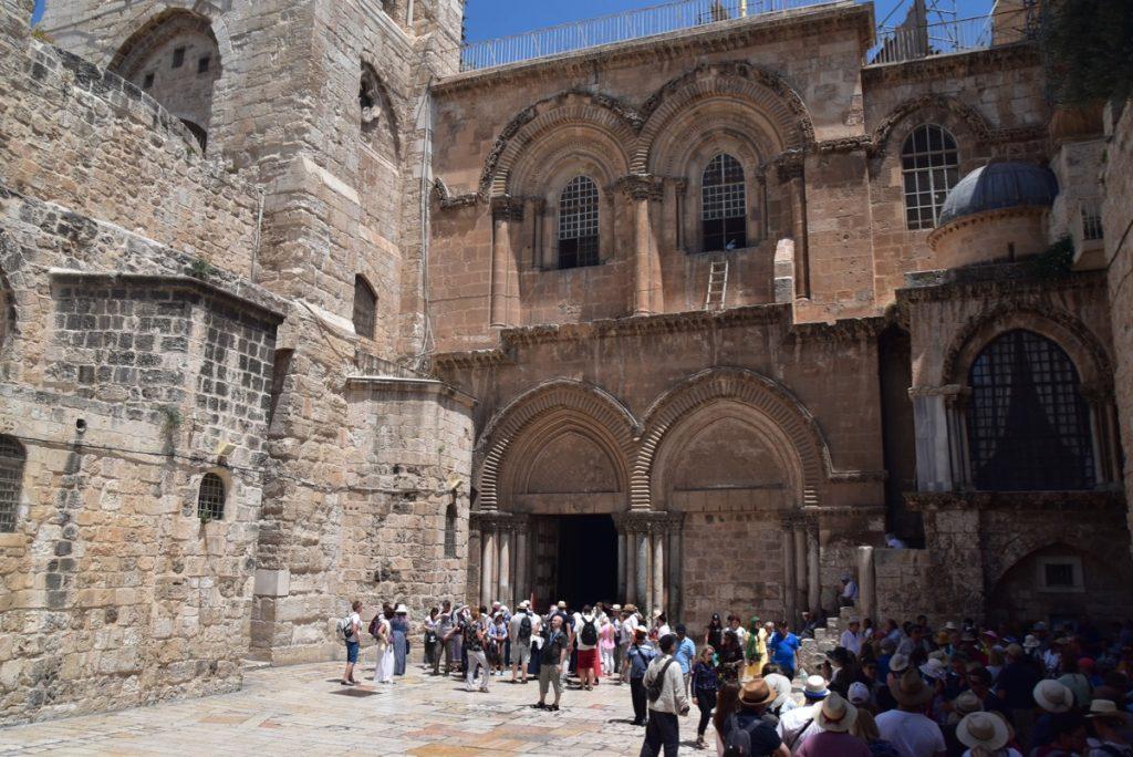 Jerusalem Holy Sepulcher June 2019 Israel Tour Group with John DeLancey