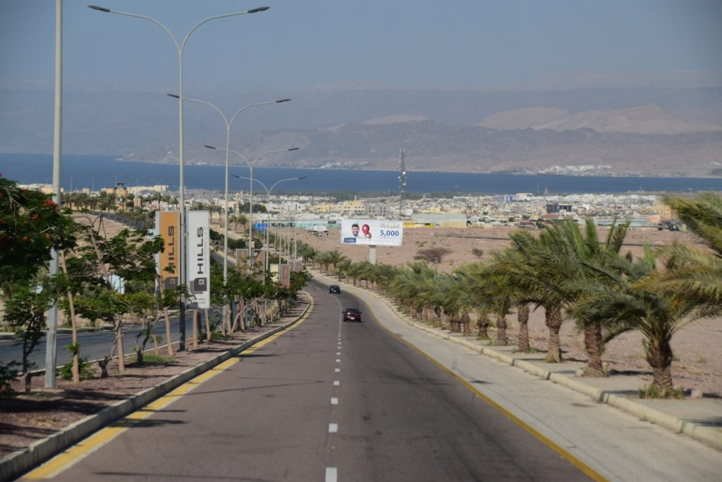 Aqaba Jordan June 2019 Israel Tour with John DeLancey