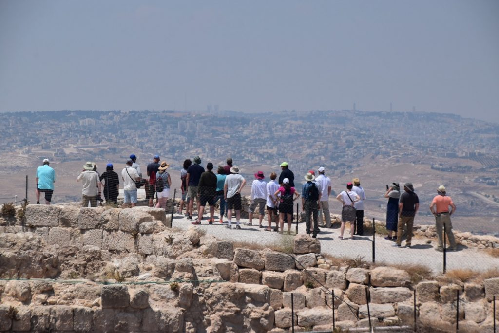 Jerusalem Herodium June 2019 Israel Tour Group with John DeLancey