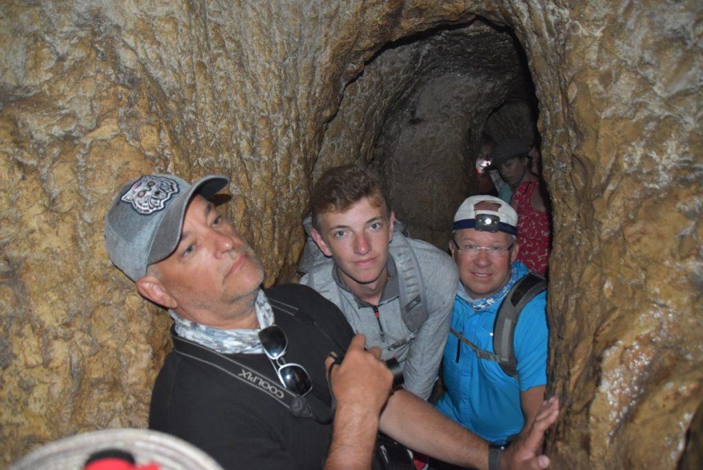 Hezekiah tunnel June 2019 Israel Tour with John DeLancey