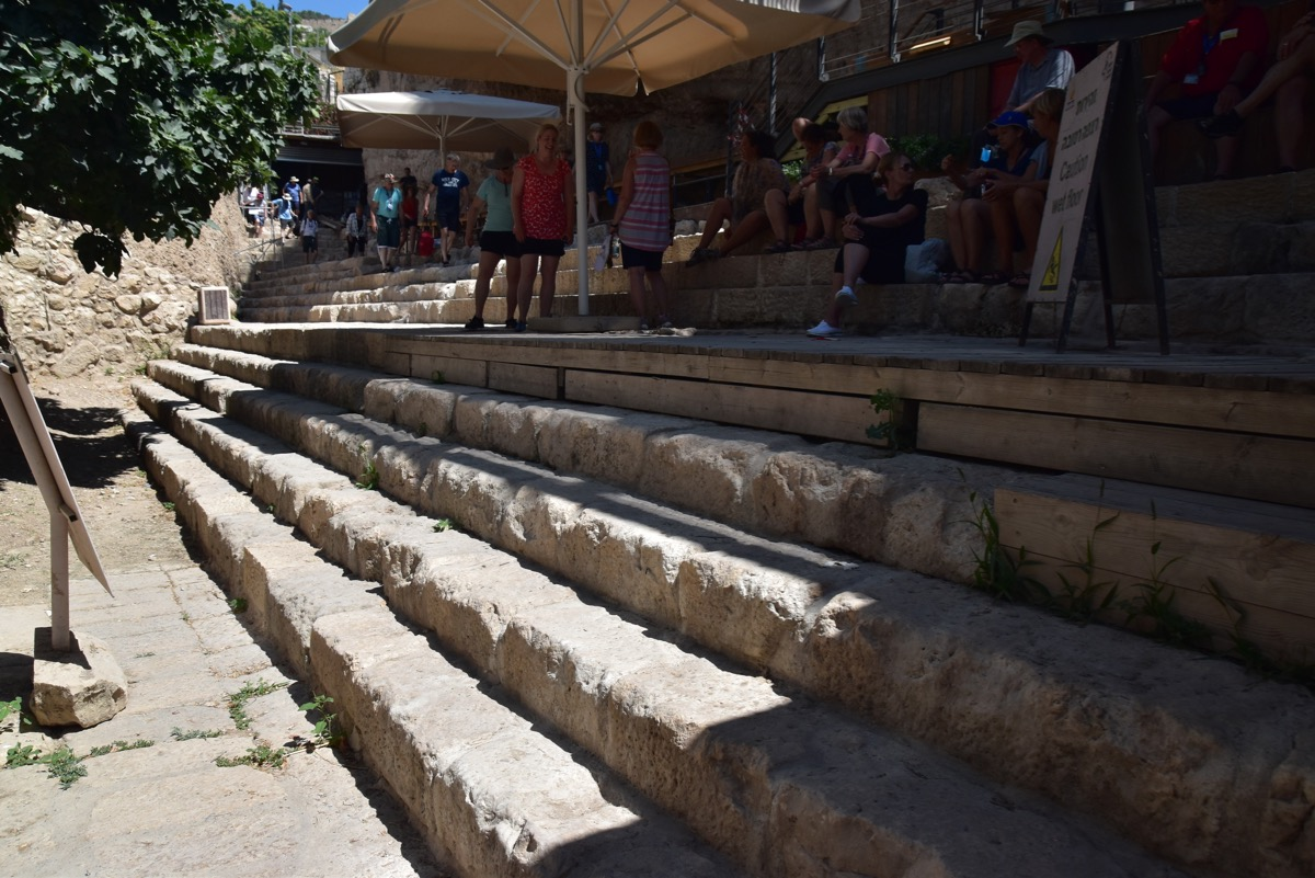 Siloam Pool steps
