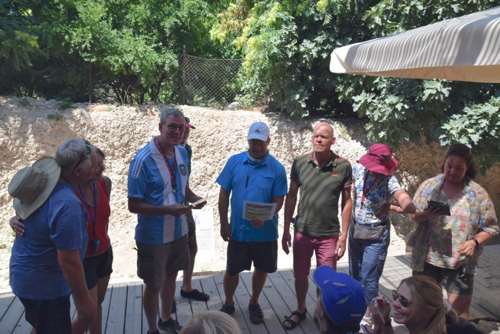 City of David Pool of Siloam June 2019 Israel Tour with John DeLancey