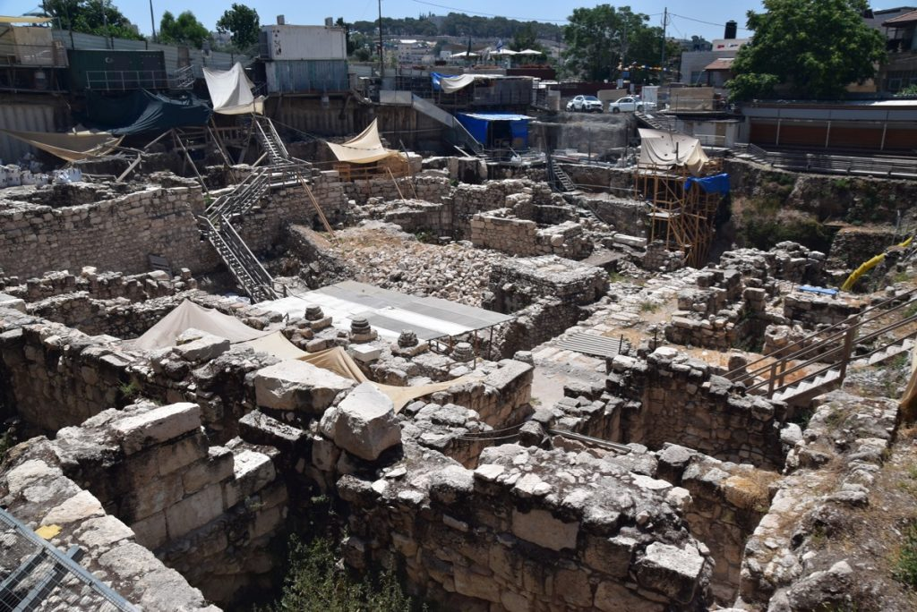 City of David Givati June 2019 Israel Tour with John DeLancey