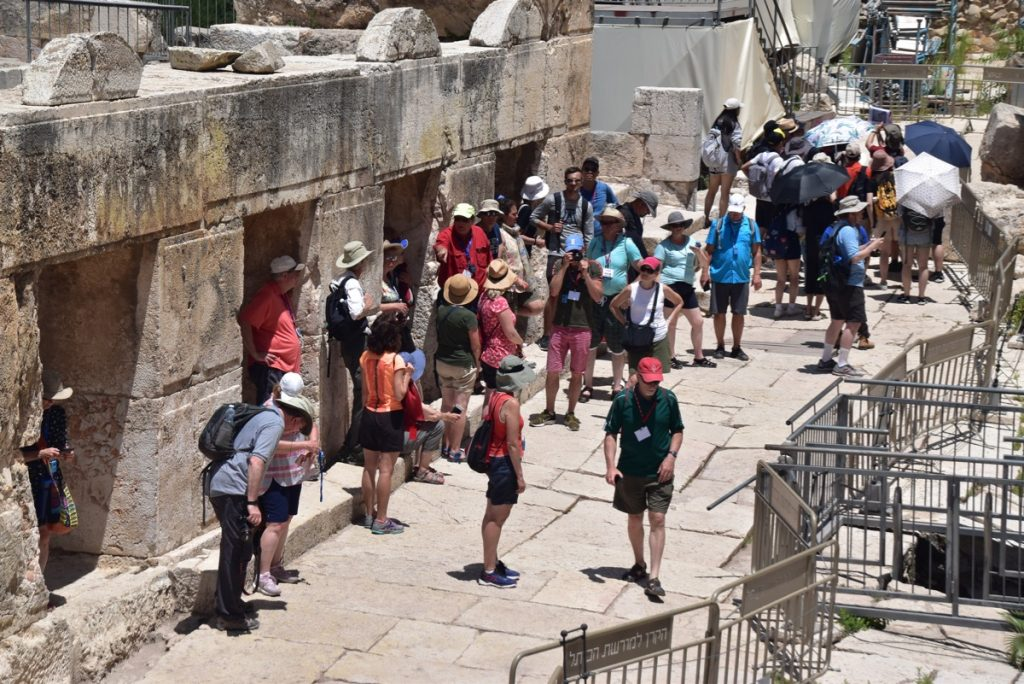 Jerusalem June 2019 Israel Tour Group with John DeLancey