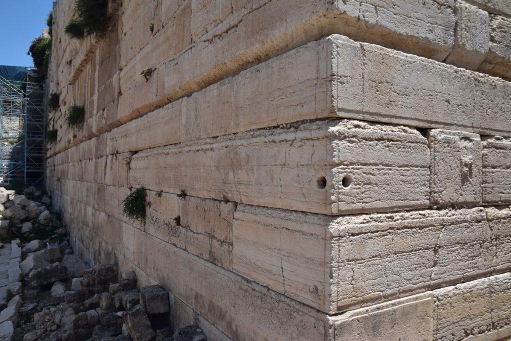 Jerusalem southern excavations June 2019 Israel Tour with John DeLancey