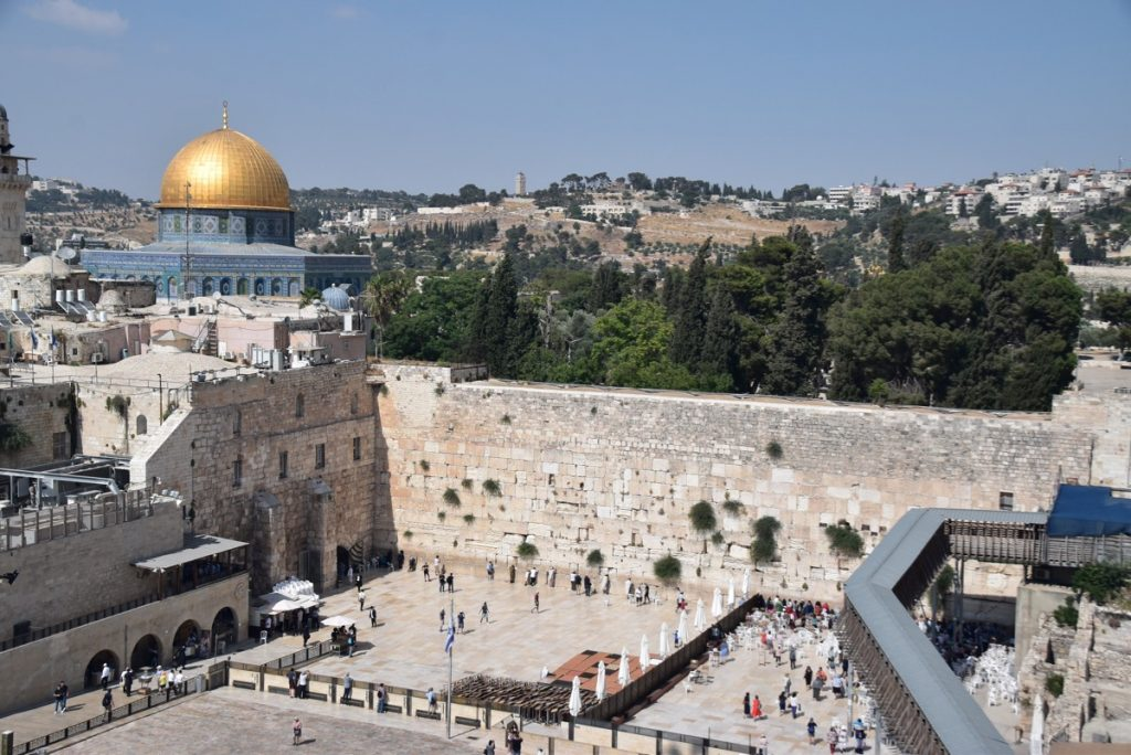 Western Wall June 2019 Israel Tour with John DeLancey