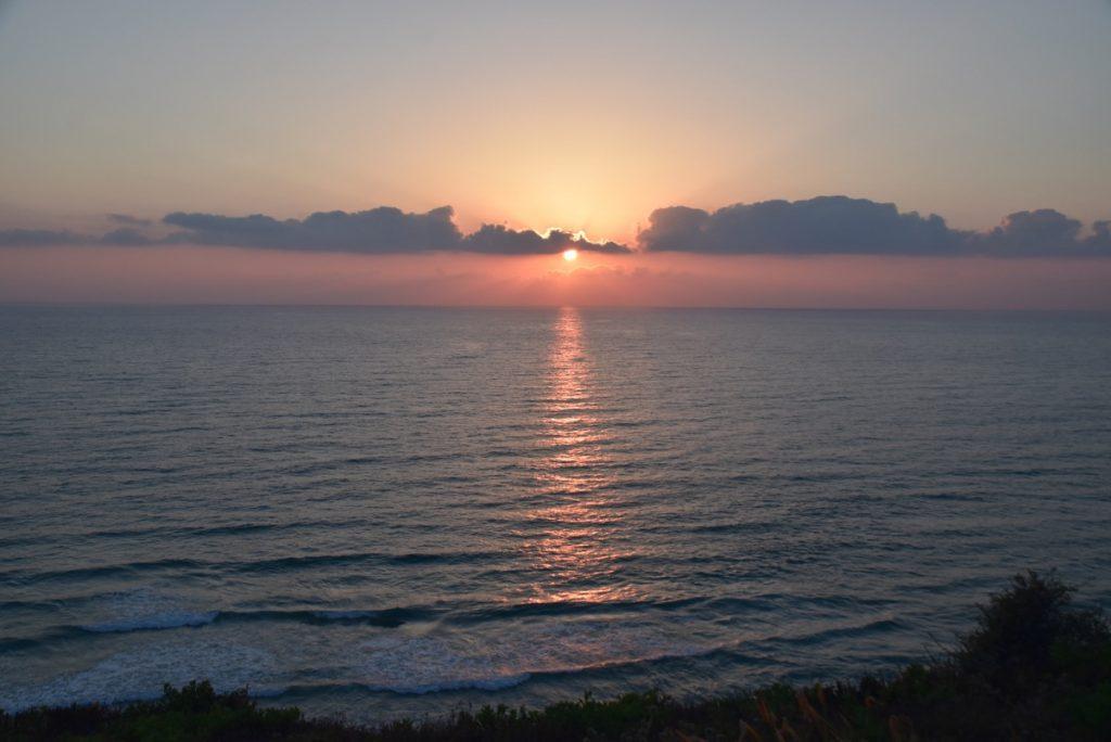 Sunset Med Sea Israel June 2019 Israel Tour with John DeLancey