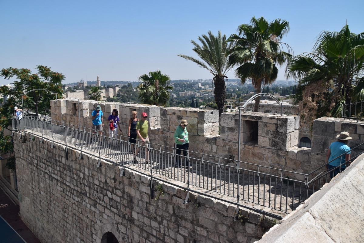 Rampart Walk Jerusalem