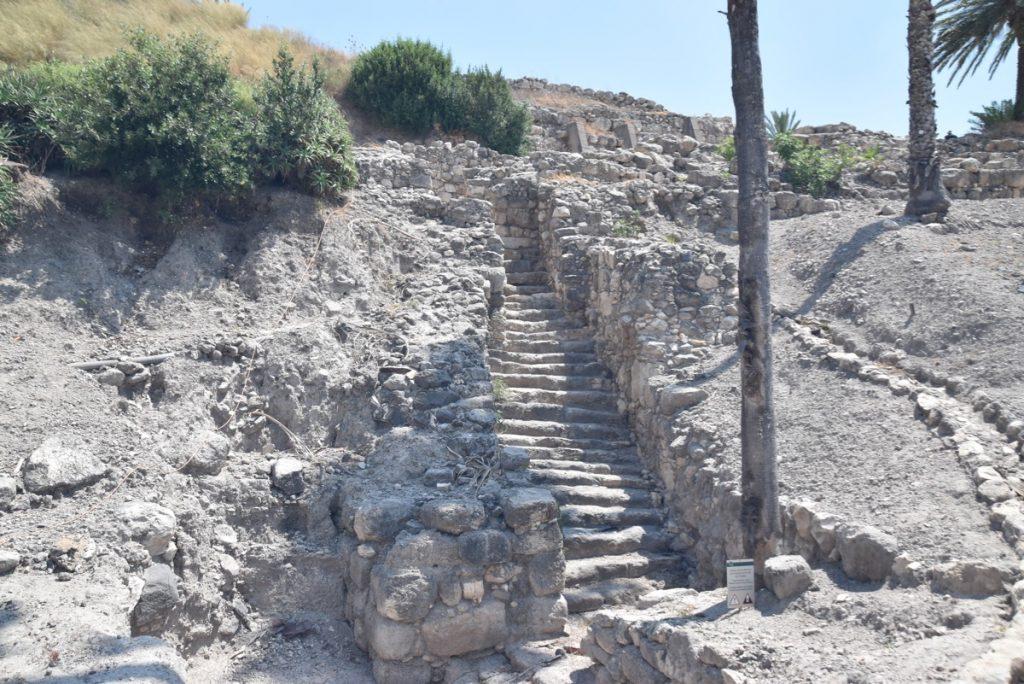 Megiddo gate June 2019 Israel Tour with John DeLancey