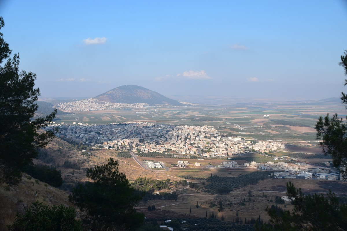 Mt. Tabor and Jezreel Valley