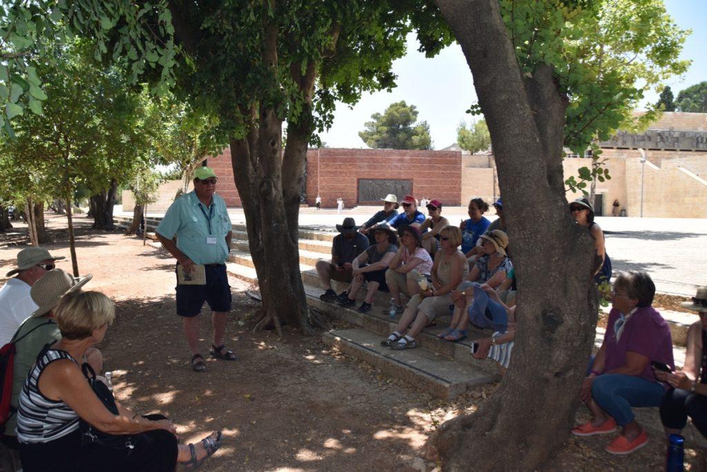 Yad Vashem June 2019 Israel Tour Group with John DeLancey