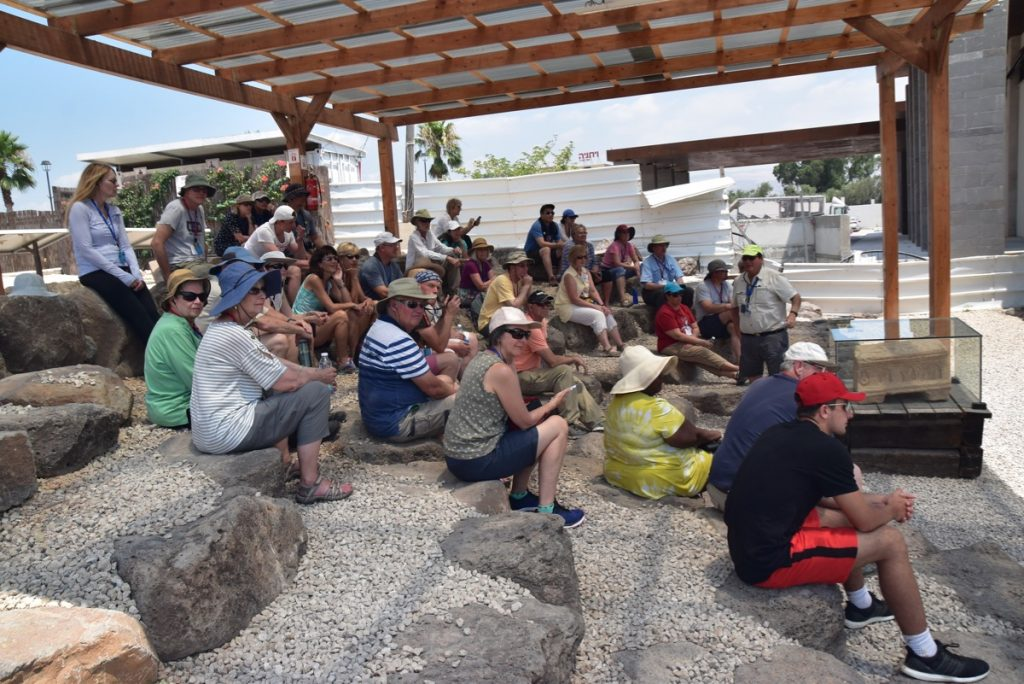 Magdala June 2019 Israel Tour Group with John DeLancey