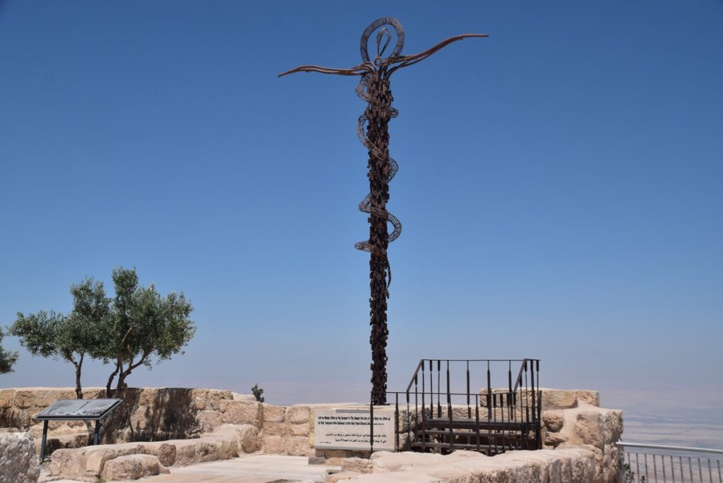 Mt. Nebo June 2019 Israel Tour Group with John DeLancey