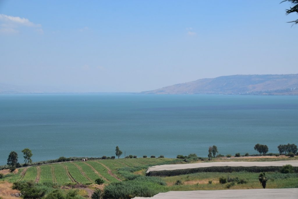 Mt. of Beatitudes June 2019 Israel Tour with John DeLancey