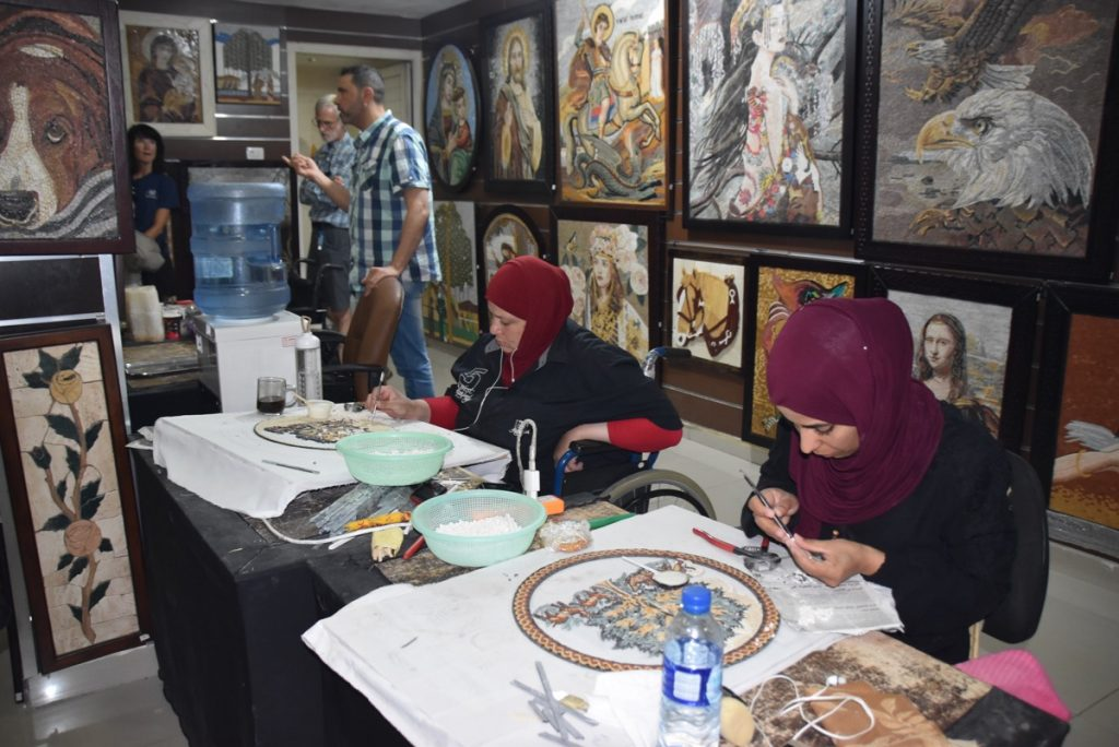 Mosaics Jordan June 2019 Israel Tour Group with John DeLancey
