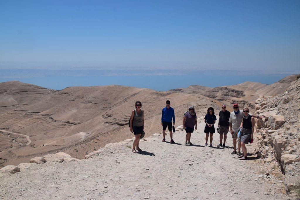 Machaerus Jordan June 2019 Israel Tour Group with John DeLancey