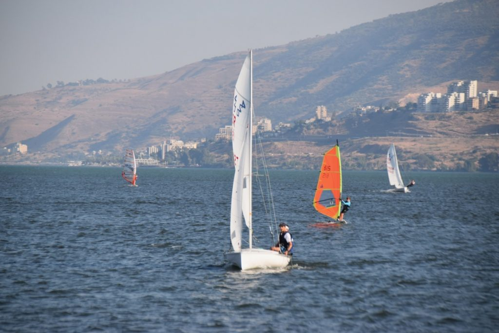 Sailing on Galilee June 2019 Israel Tour with John DeLancey