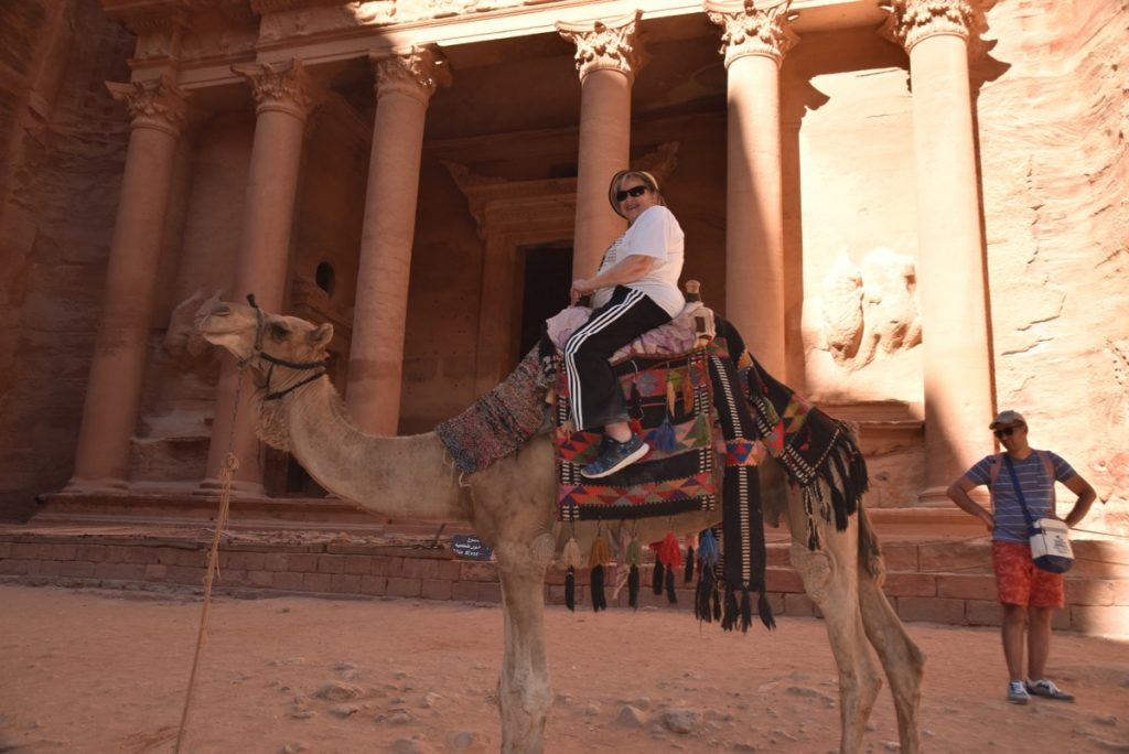 Petra Jordan June 2019 Israel Tour with John DeLancey