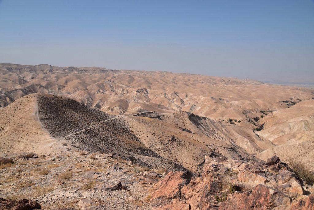 Wadi Qelt June 2019 Israel Tour Group with John DeLancey
