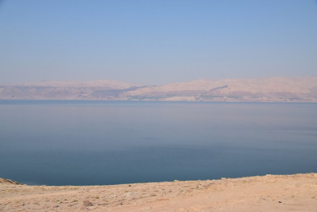 Dead Sea June 2019 Israel Tour Group with John DeLancey