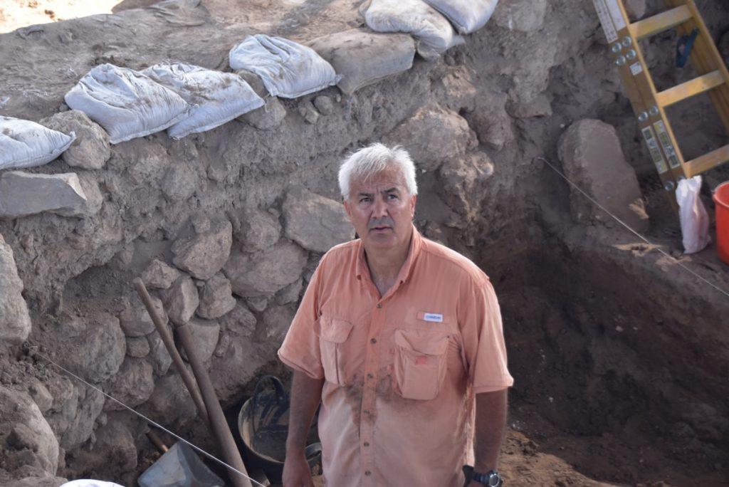 Steve Ortez Tel Burna dig July 2019 Israel biblical archaeology