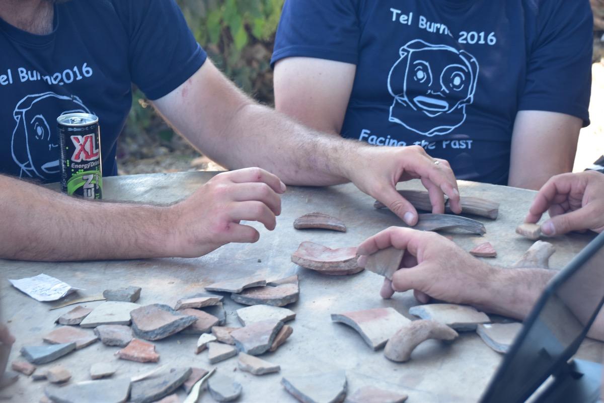 Pottery reading