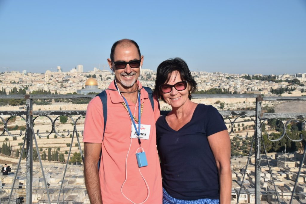 Jerusalem Sept 2019 Israel Tour Group, with John DeLancey