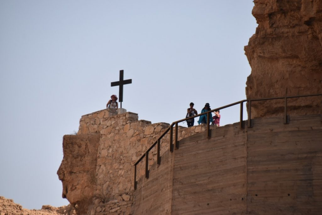 Wadi Qelt Sept 2019 Israel Tour Group, with John DeLancey