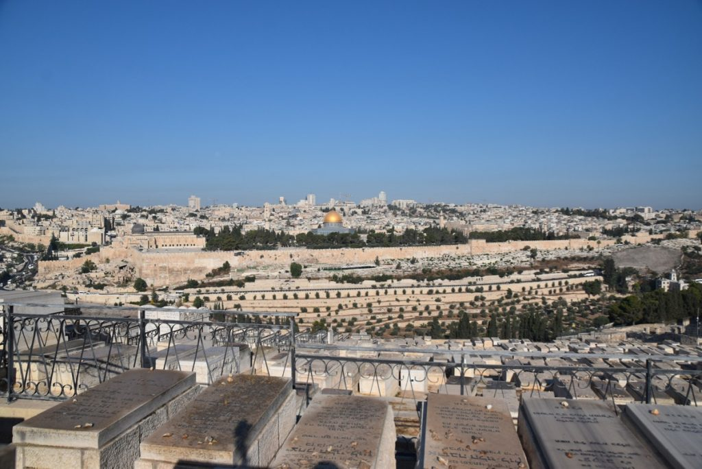 Jerusalem Sept 2019 Biblical Israel Tour with John DeLancey