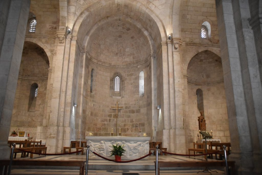 Jerusalem St. Anne's Church Sept 2019 Biblical Israel Tour with John DeLancey
