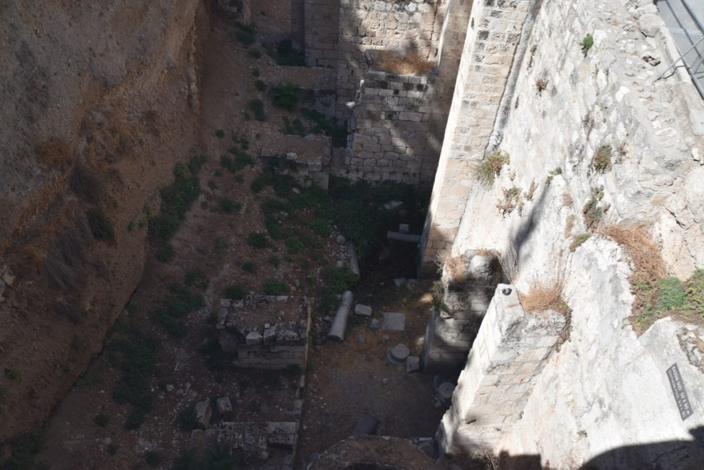 Jerusalem Pools of Bethesda Sept 2019 Biblical Israel Tour with John DeLancey