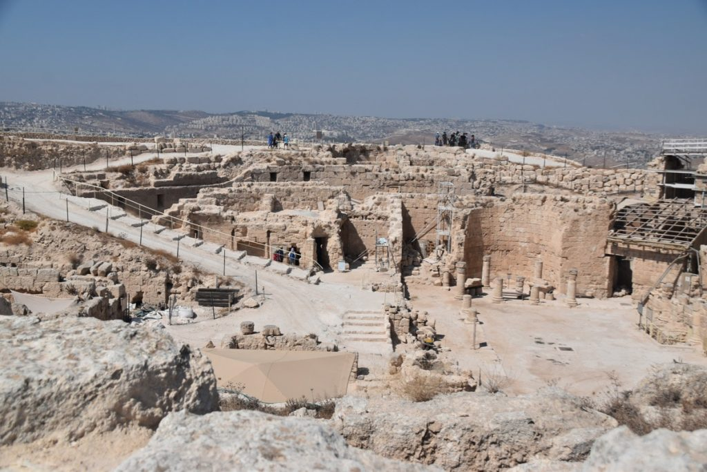 Herodium Sept 2019 Biblical Israel Tour with John DeLancey