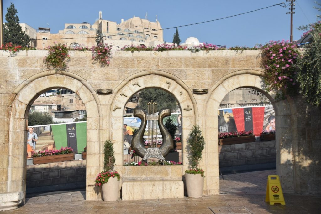 City of David Jerusalem Sept 2019 Biblical Israel Tour with John DeLancey