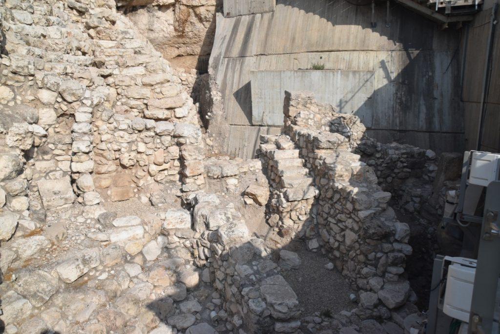 City of David Jerusalem Sept 2019 Biblical Israel Tour with John DeLancey