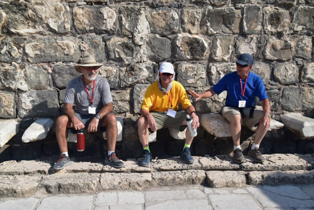 Beth Shean Sept 2019 Israel Tour with John DeLancey