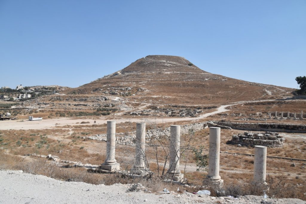 Herodium Sept 2019 Biblical Israel Tour with John DeLancey